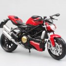 Automaxx Ducat Streetfighter s 2010 Red 1:12 Die Cast Metal Motorcycle Model Miniature Loquatee