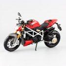 Children's mod streetfighter S Die Cast Metal Motorcycle Model Miniature Maisto