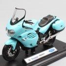 2002 Triumph Trophy Blue Light 1:18 Die Cast Metal Motorcycle Model Miniature Loquatee