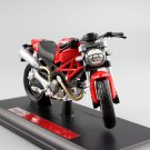 Ducati Monster 696 Mostro Naked  1:18 Die Cast Metal Motorcycle Model Miniature Maisto