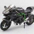 Kawasaki Ninja H2 H2R 1:12 Die Cast Metal Motorcycle Model Miniature