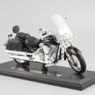 YAMAHA 2001 Road Star Silverado 1:18 Die Cast Metal Motorcycle Model Miniature
