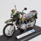 KAwasaki KLR 650 1:18 Die Cast Metal Motorcycle Model Miniature