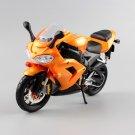 Kawasaki Ninja ZX 10R Orange 1:12 Die Cast Metal Motorcycle Model Miniature