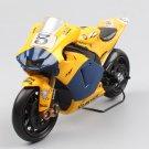 Yamaha YZR-M1 2006 Yellow 1:18 Die Cast Metal Motorcycle Model Miniature