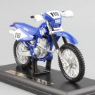YAMAHA TT-R250 Blue 1:18 Die Cast Metal Motorcycle Model Miniature