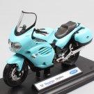 Triumph Trophy 2002 Blue Sea 1:18 Die Cast Metal Motorcycle Model Miniature