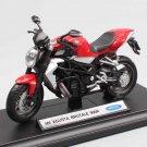 Welly MV AGUSTA BRUTALE 990R 1:18 Die Cast Metal Motorcycle Model Miniature