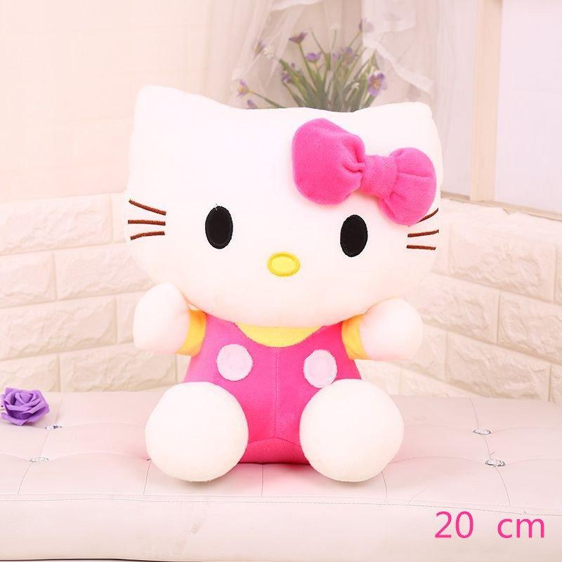 Hello Kitty Pink Disney Doll Cute 20cm Boy or Girl Gift Birthday Cute Doll Plush Toys