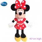 Minnie Mouse Disney Doll Cute 45cm Boy or Girl Gift Birthday Cute Doll Plush Toys