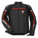 New Handmade Men's Ducati Motorbike Motorcycle Leather Jacket with CE Armor Protection