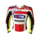 New Handmade Mens' DUCATI Sports & Racing Leather Jacket