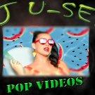 Pop Music Videos DVD * Volume 14 * Wiz Khalifa Guetta Avicii Bieber