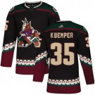Men's Arizona Coyotes #35 Darcy Kuemper Black Alternate Stitched Jersey