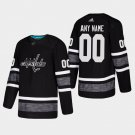2019 NHL All-Star Men'S Capitals Custom Game Parley Game Jersey Black