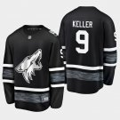 2019 NHL All-Star Arizona Coyotes #9 Clayton Keller Game Parley Black Jersey