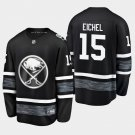 2019 NHL All-Star Buffalo Sabres #15 Jack Eichel Game Parley Black Jersey
