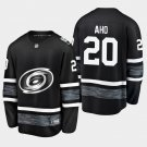 2019 NHL All-Star Carolina Hurricanes #20 Sebastian Aho Game Parley Black Jersey