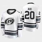 2019 NHL All-Star Carolina Hurricanes #20 Sebastian Aho Game Parley White Jersey