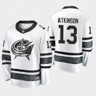 2019 NHL All-Star Columbus Blue Jackets #13 Cam Atkinson Game Parley White Jersey