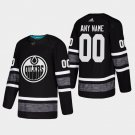 2019 NHL All-Star Edmonton Oilers #00 Custom All-Star Game Parley Game Black Jersey