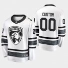 2019 NHL All-Star Florida Panthers #00 Custom Game Parley White Jersey