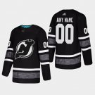 2019 NHL All-Star New Jersey Devils #00 Custom All-Star Game Parley Game Black Jersey