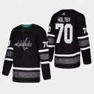 2019 NHL All-Star Washington Capitals #70 Braden Holtby All-Star Game Parley Game Black Jersey