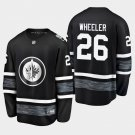 2019 NHL All-Star Winnipeg Jets #26 Blake Wheeler Game Parley Black Jersey