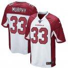 Men's Arizona Cardinals #33 Byron Murphy White 100th Season Limited Jersey