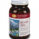 Zinc, Chelated (150 tablets) single
