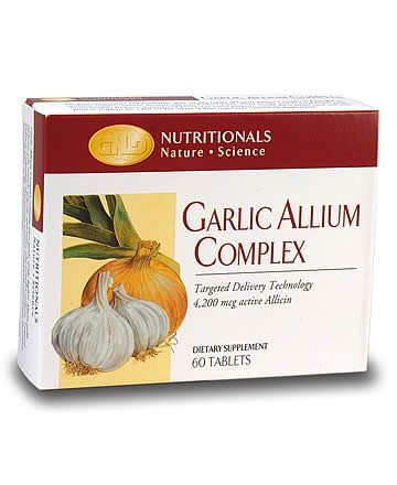 Garlic Allium Complex (60 tablets) case Qty.6
