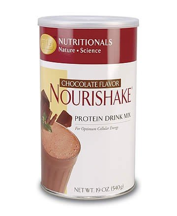 NouriShake Drink Mix-Chocolate (19 oz.) case Qty.6
