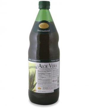 Aloe Vera - Carbonated 33.8 fluid Oz. (1 L) Case Qty. 6