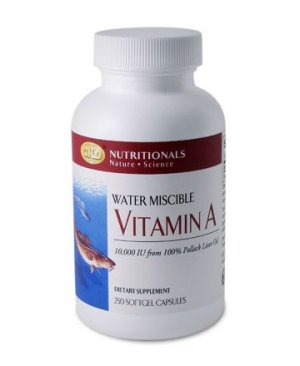 Vitamin A 10,000 IU (250 capsules) single