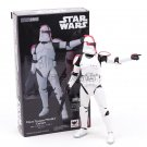Star Wars SHF S.H.Figuarts Clone Trooper PHASE II I Captain Action Figure - Red