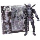 NO.001 Deadpool Gray Color Action Figure 15cm -