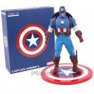 Marvel Super Hero Avengers Captain America 1/12 Scale Action Figure 16cm -