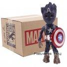 Marvel Tree Man Cosplay Captain America Thor Hulk Deadpool Batman Figure - A