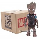 Marvel Tree Man Cosplay Captain America Thor Hulk Deadpool Batman Figure - B