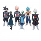 Dragon Ball Z Super 6pcs/set 56th Version Figure Model Toys package by bag