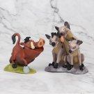 9pcs/set Anime the Lion King Animal PVC Action Figure Collectible Model Toys for Children no retail