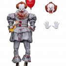 Neca Special Bloody Ver. Stephen King's It Pennywise Joker Clown with Blood BJD Action Figure Toys D