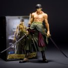 Japan Anime One Piece Roronoa Zoro Two Years Later Big 22cm PVC Action Figure Gift Collectible Model