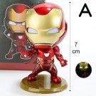 Disney Marvel Avengers Iron Man Doctor Strange Thanos 4.5-7cm Action Figure Anime Decoration Collect
