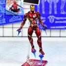 Disney Marvel Avengers 4 Iron Man nanometer 16cm Action Figure Anime Decoration Collection doll mini