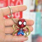 Disney Marvel Avengers Spider Man 4cm key ring Action Figure Posture Anime Decoration Collection Fig
