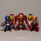 Disney Marvel Avengers 4 Iron Man Captain America 9cm 5pcs/set Action Figure Anime Decoration Collec