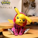 Pokemon Height 11.5CM pikachu Exquisite Car Decor  PVC Stand Figure Model Gifts for Friends, Home De