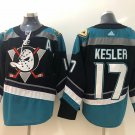 Ryan Kesler Men's Anaheim Ducks Stitched Black Teal Jersey